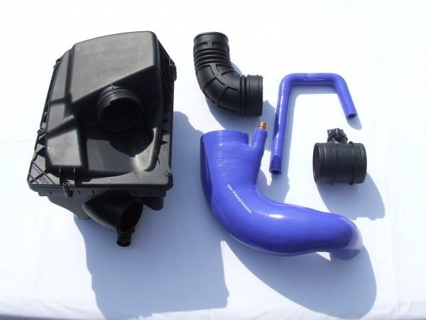 komplettes Umbauset Kurzer Ansaugweg Blau / Rot Opel Astra G / H ; Zafira A / B mit Luftfi