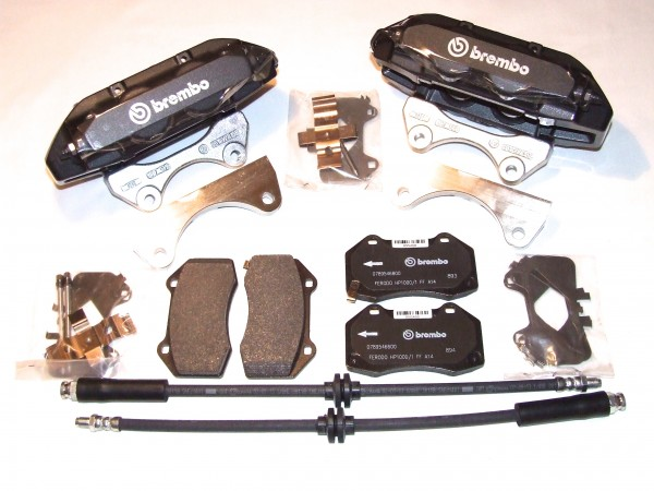Brembo Bremsanlage Astra G / H ; Zafira A / B - 4 Kolben - 321mm