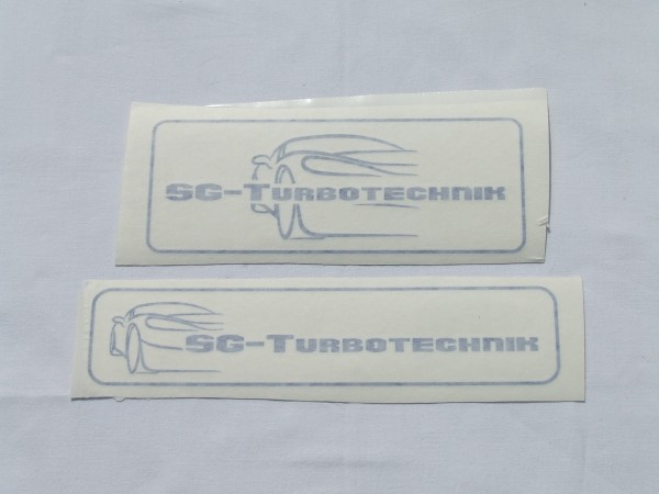 Aufkleber SG-Turbotechnik schwarz