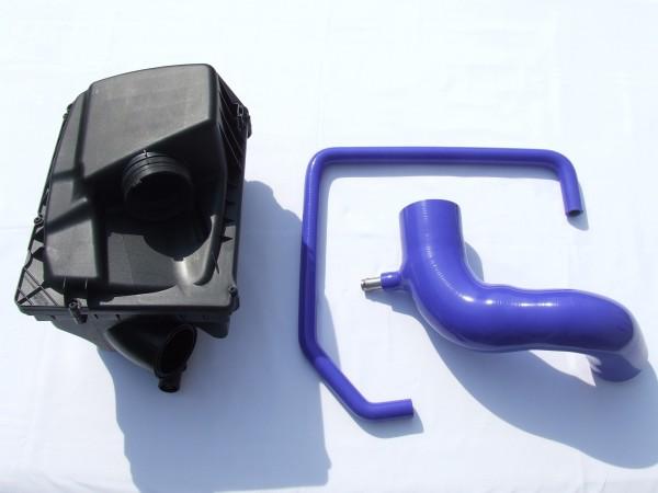 Kurzer Ansaugweg Blau Astra G / H und Zafira A / B 70mm LMM mit Luftfilterkasten