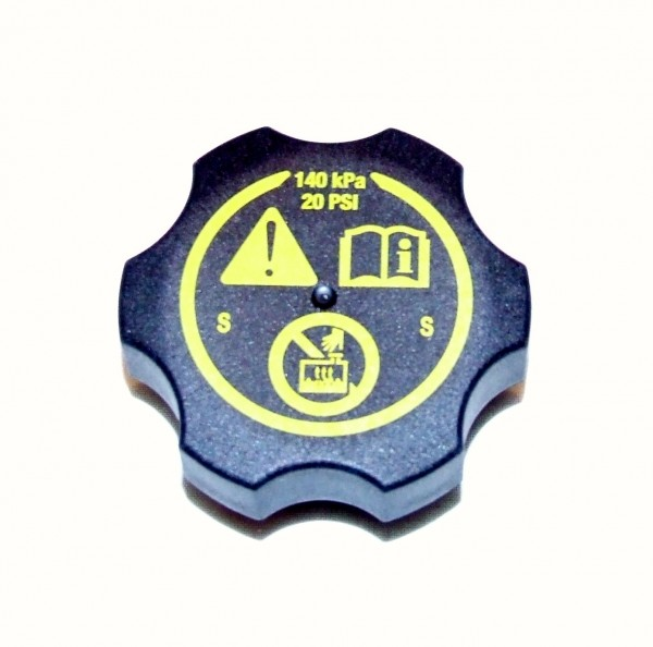 schwarzer Deckel - Kühlmittelbehälter