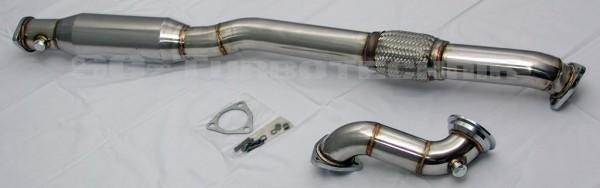 Downpipe mit 200 Zellen Katalysator Opel Astra H