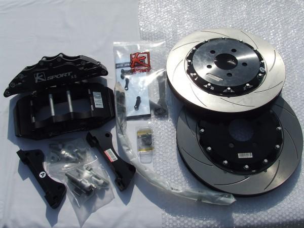 KSport Bremsanlage 8 Kolben schwarz 330mm Corsa D