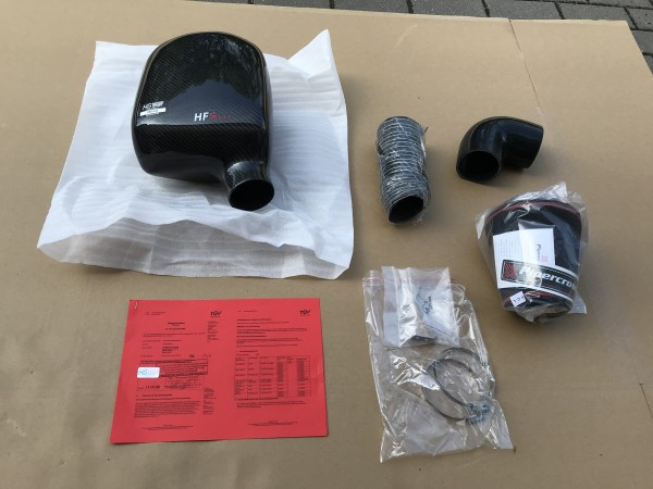 HFI Carbon-Intake Kit für Opel Astra H OPC 80mm Luftmassenmesser