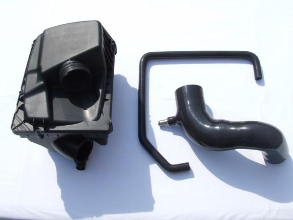 Kurzer Ansaugweg Schwarz Astra G / H und Zafira A / B 70mm LMM mit Luftfilterkasten
