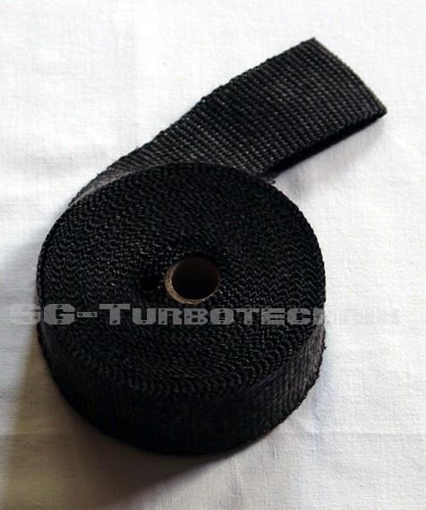 Auspuff Hitzeschutzband schwarz 10 Meter Keramik