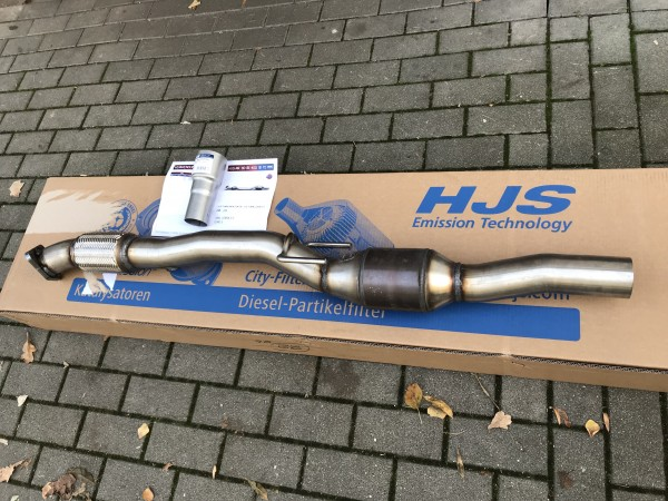 Opel Corsa D GSI OPC NRE Downpipe 70mm HJS Gutachten ECE 1.6Turbo