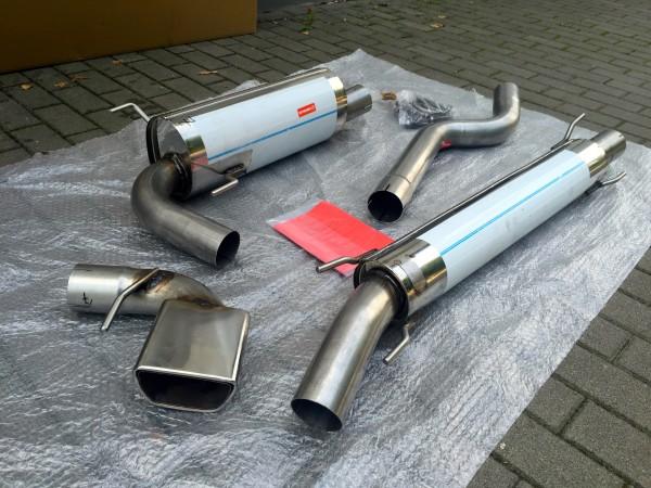 Opel Astra H OPC GTC 3 Zoll Auspuffanlage ab Kat - unverjüngt