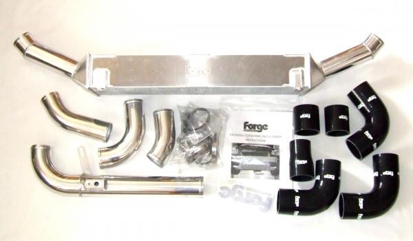 Ladeluftkühlerset Forge Corsa D OPC schwarz