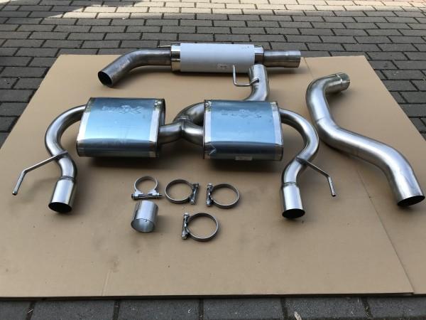 Opel Corsa D NRE Nürburgring Edition Bull X AGA Auspuffanlage KAT